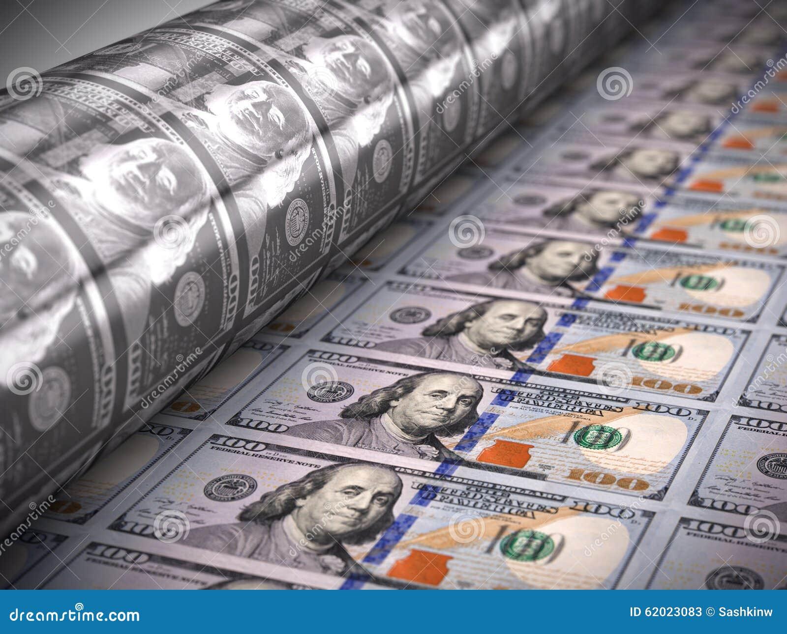 Gelddruck