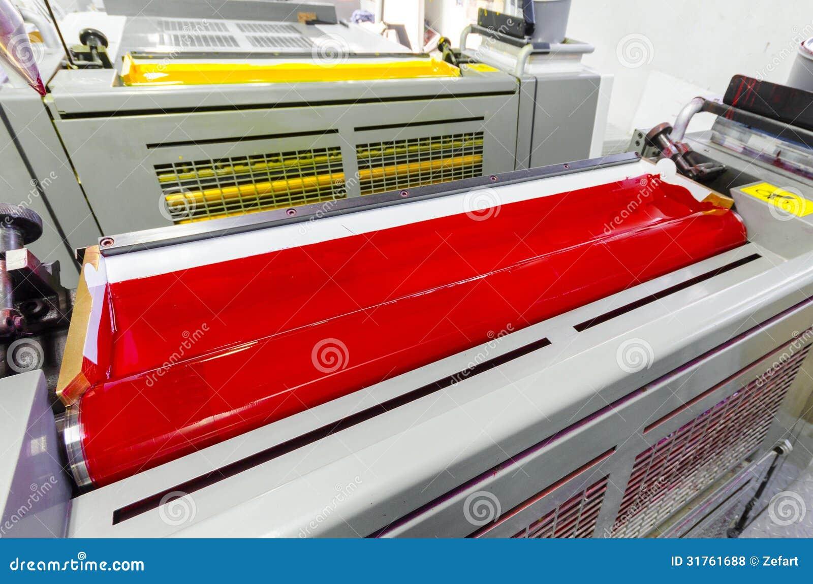 Druckmaschine-Tinten-Einheiten