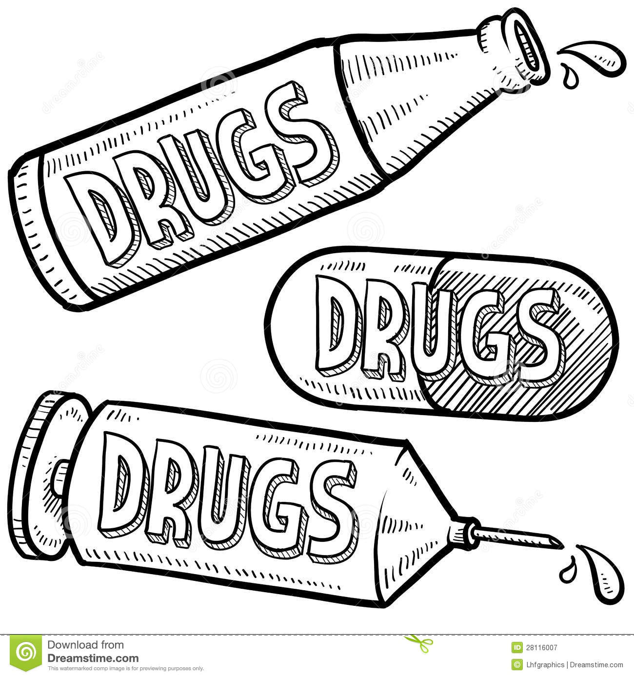 cocaine toucher coloring pages - photo#35