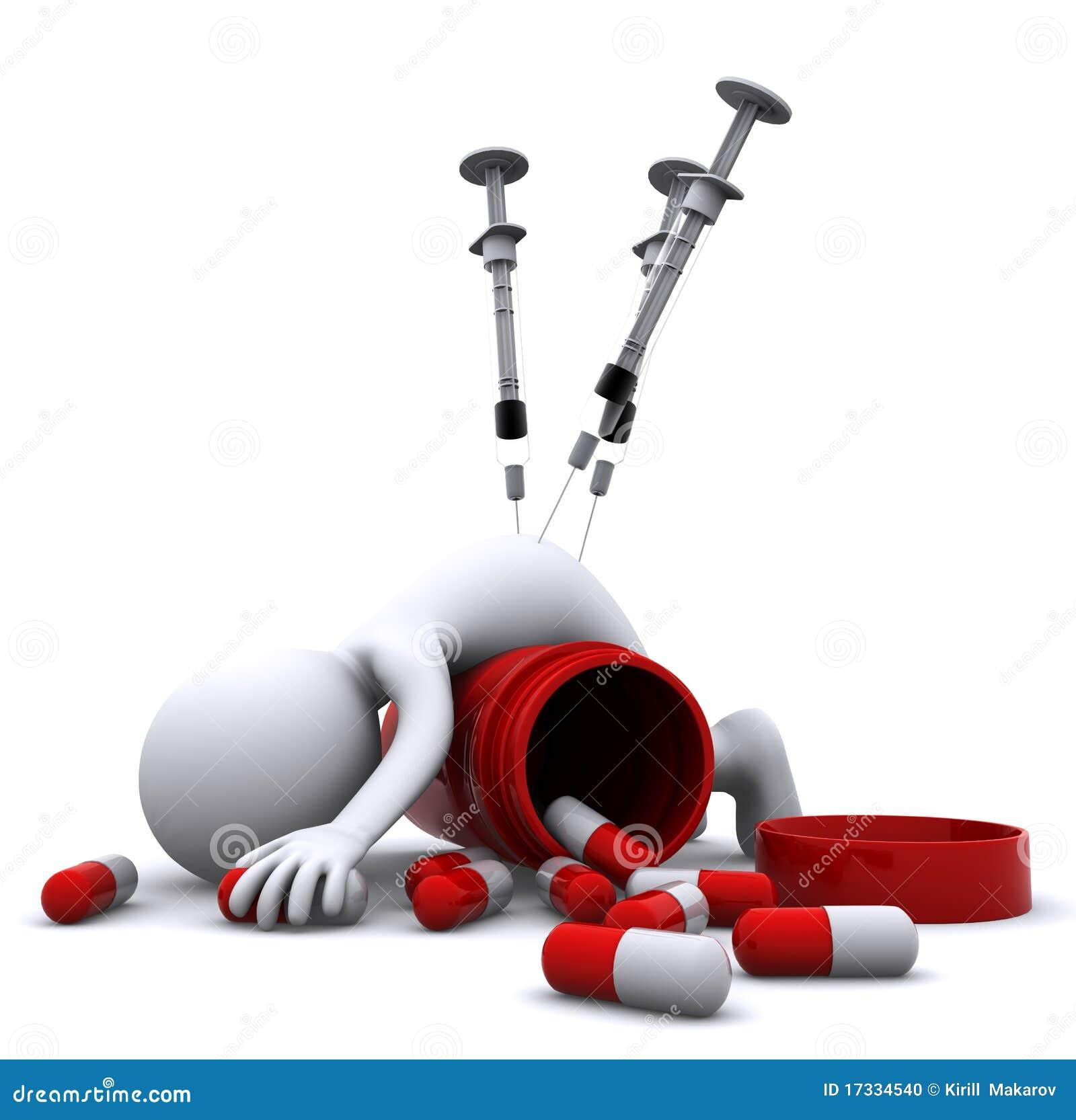 Drug Overdose Concept Stock Photo Image 17334540