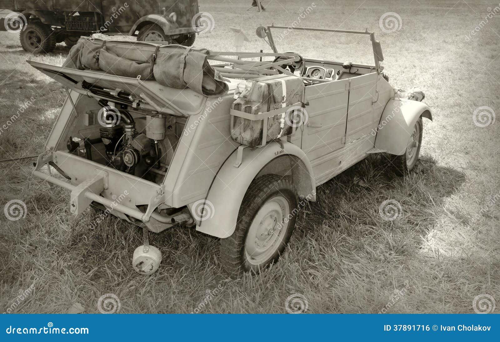 Druga Wojna Światowa pojazd wojskowy