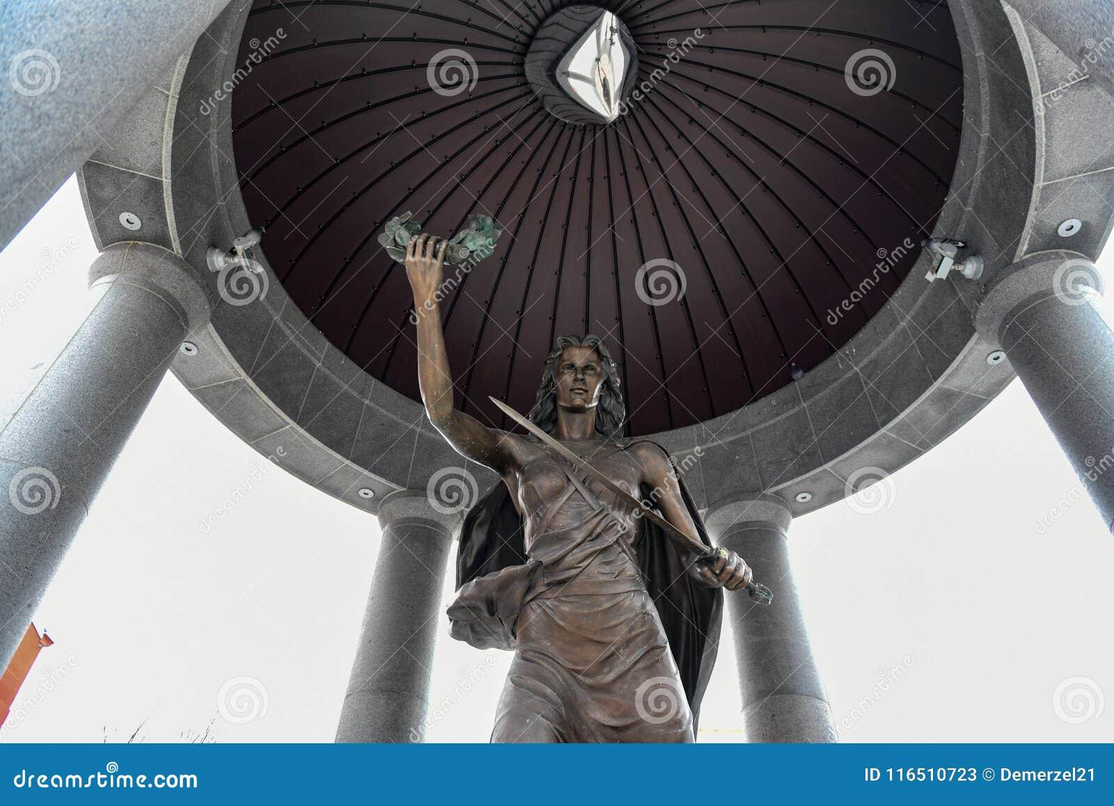 Druga Wojna Światowa pomnik bydło - Trenton, Nowy -