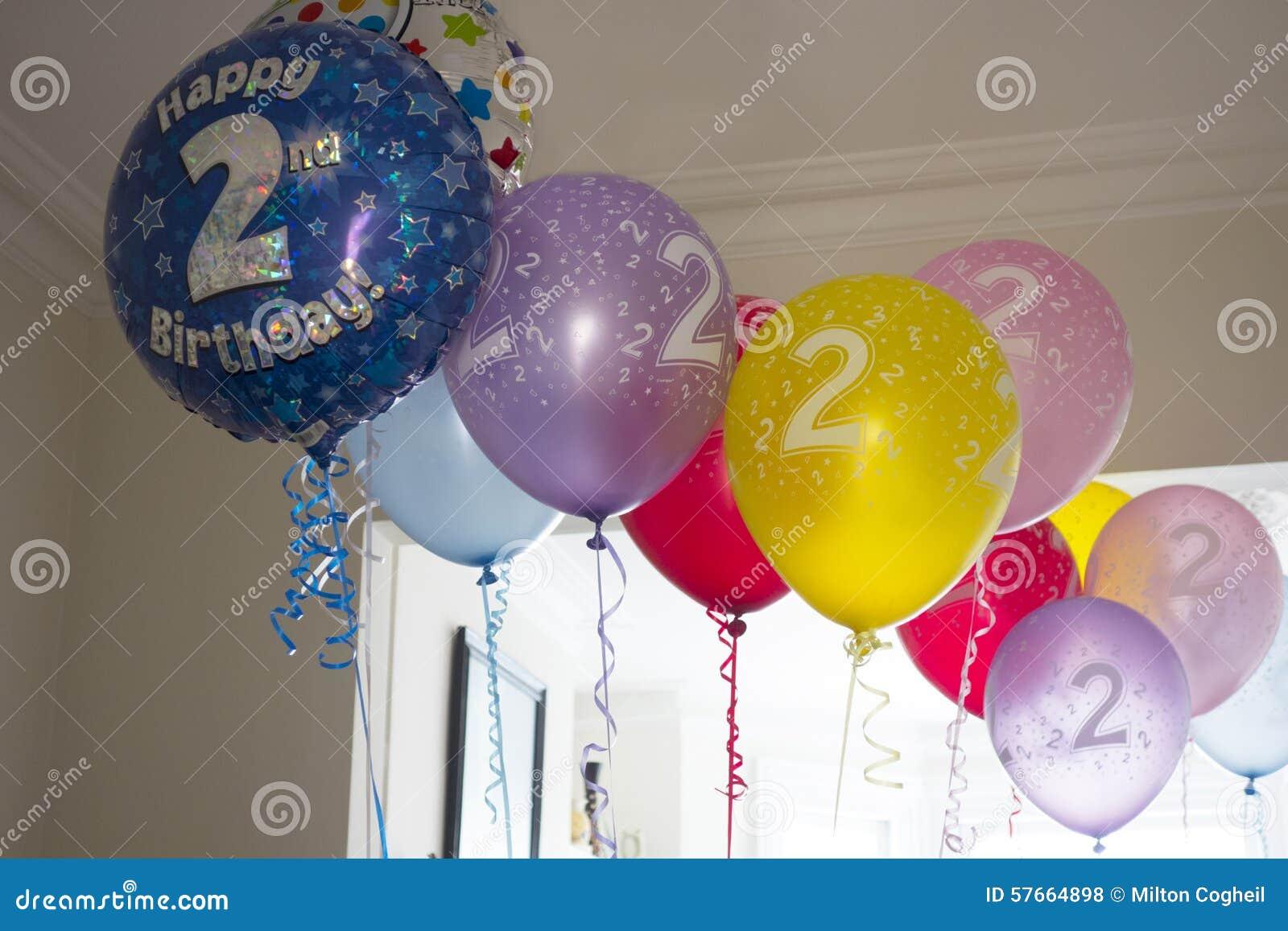 Drugi urodzin balony