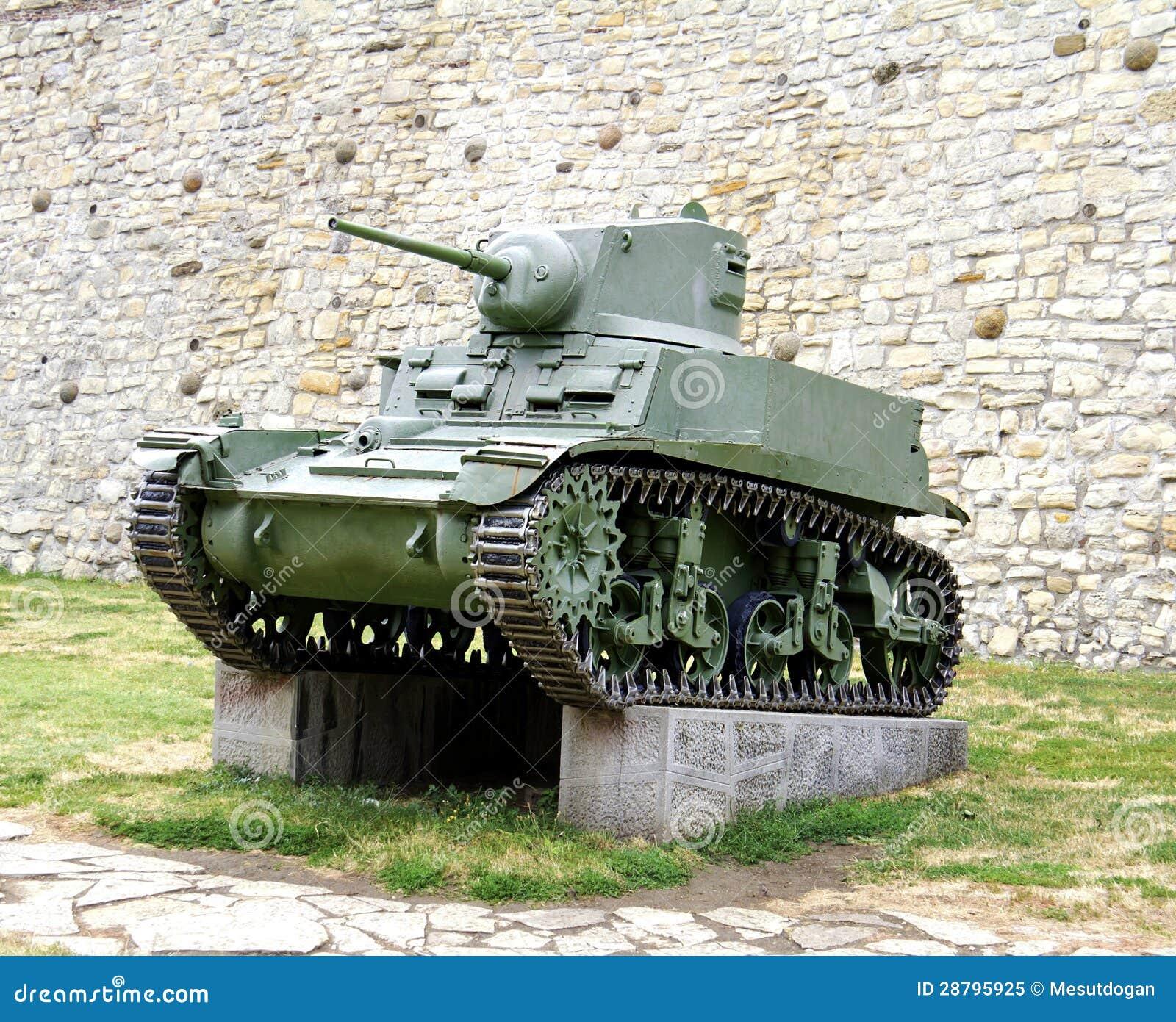 Drugi wojna światowa zbiornik