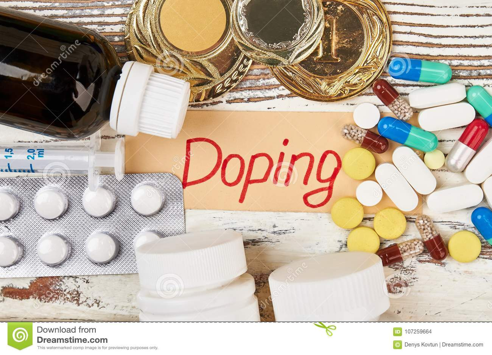 Drugs en onverdiende medailles