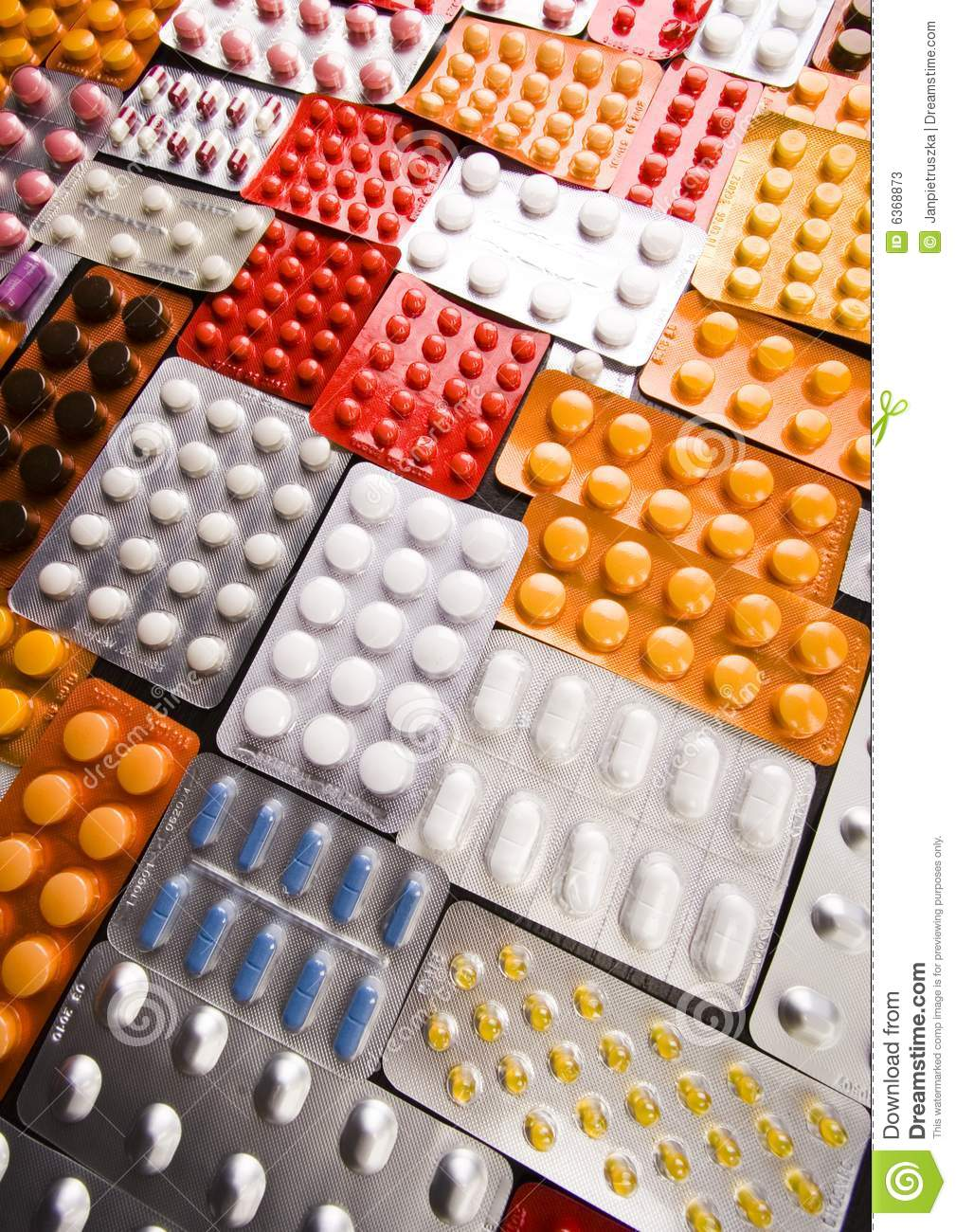 Drugs, Medicines, Tablets, Pills Stock Image - Image of colourful