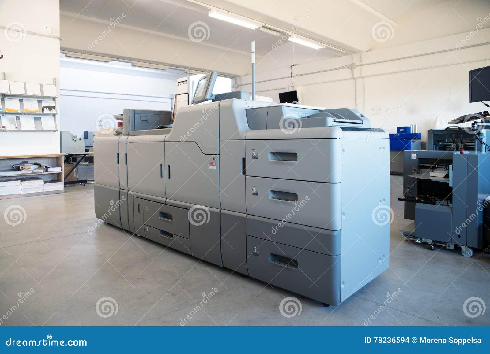 Drukwinkel - de Digitale machine van de persdruk