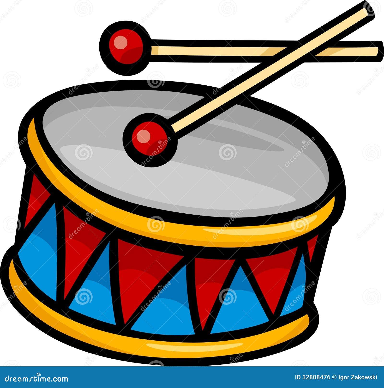 Drum Clip Art Cartoon Illustration Royalty Free Stock Image - Image ...