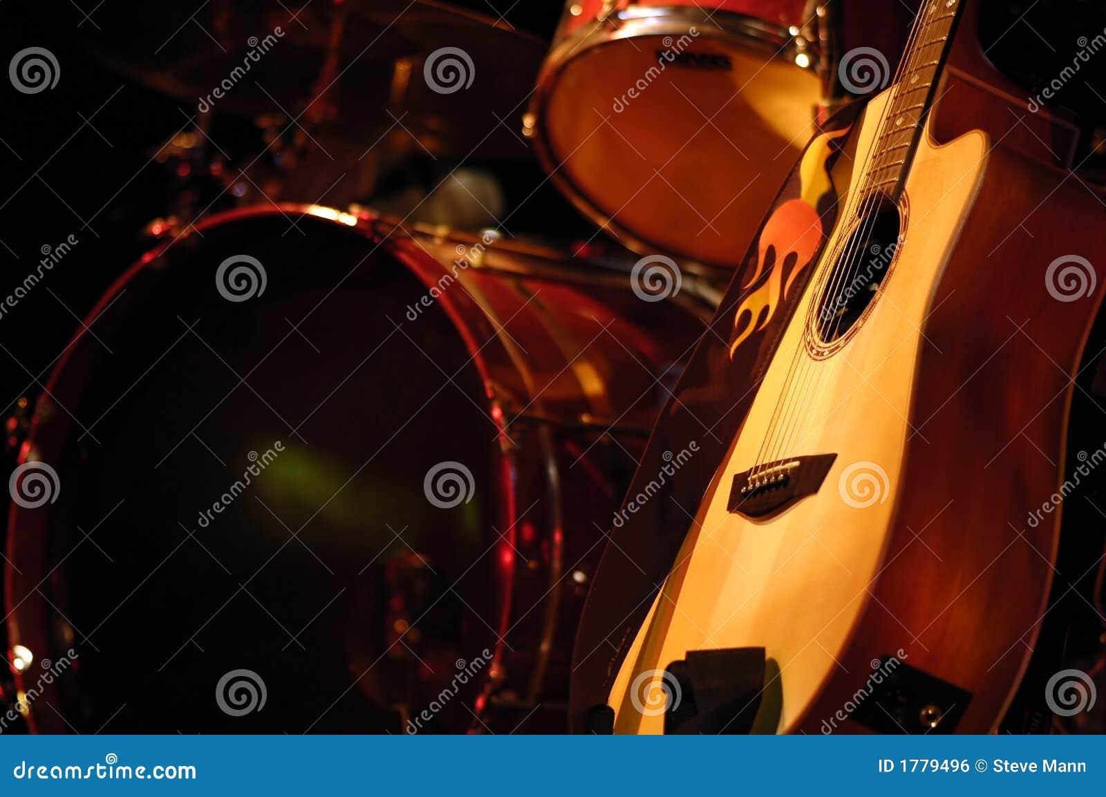Drum And Guitar