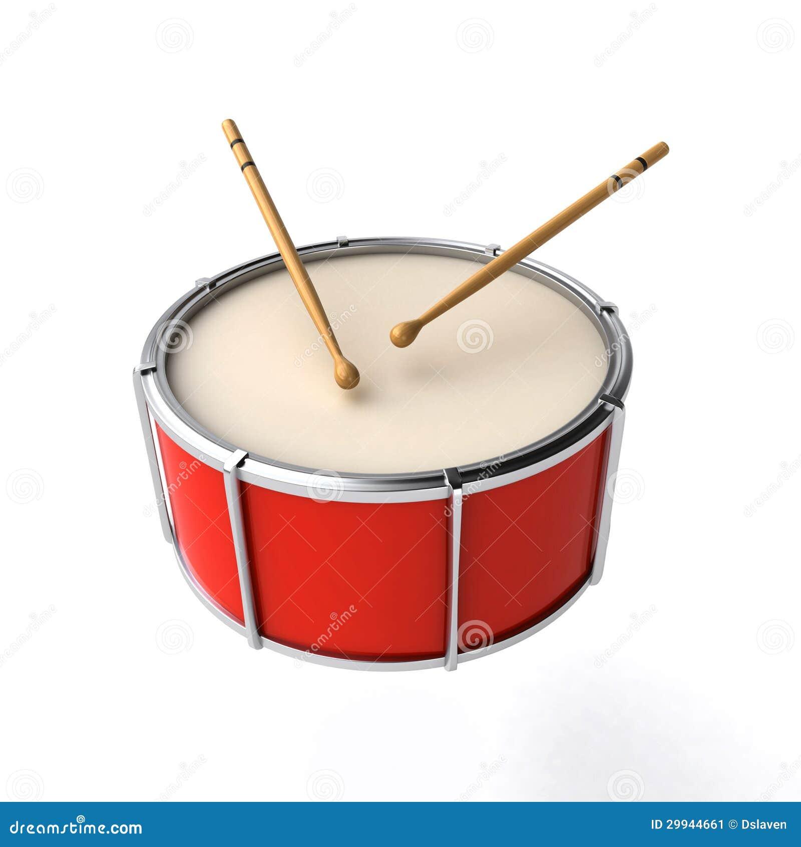 drum with sticks stock image image 29944661. Black Bedroom Furniture Sets. Home Design Ideas