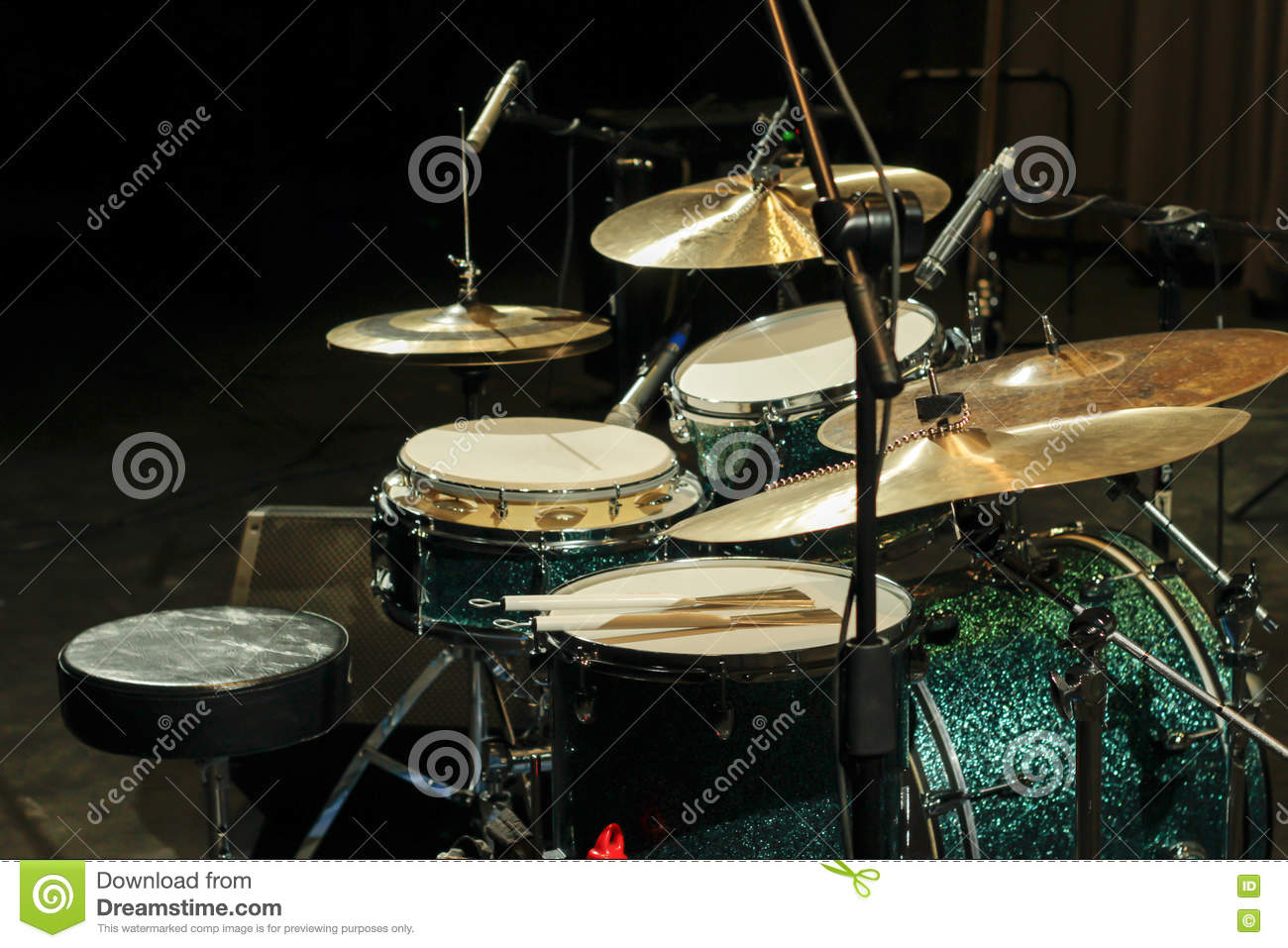 Drum Set Photography Stock Photo Image Of Percussions 71380810