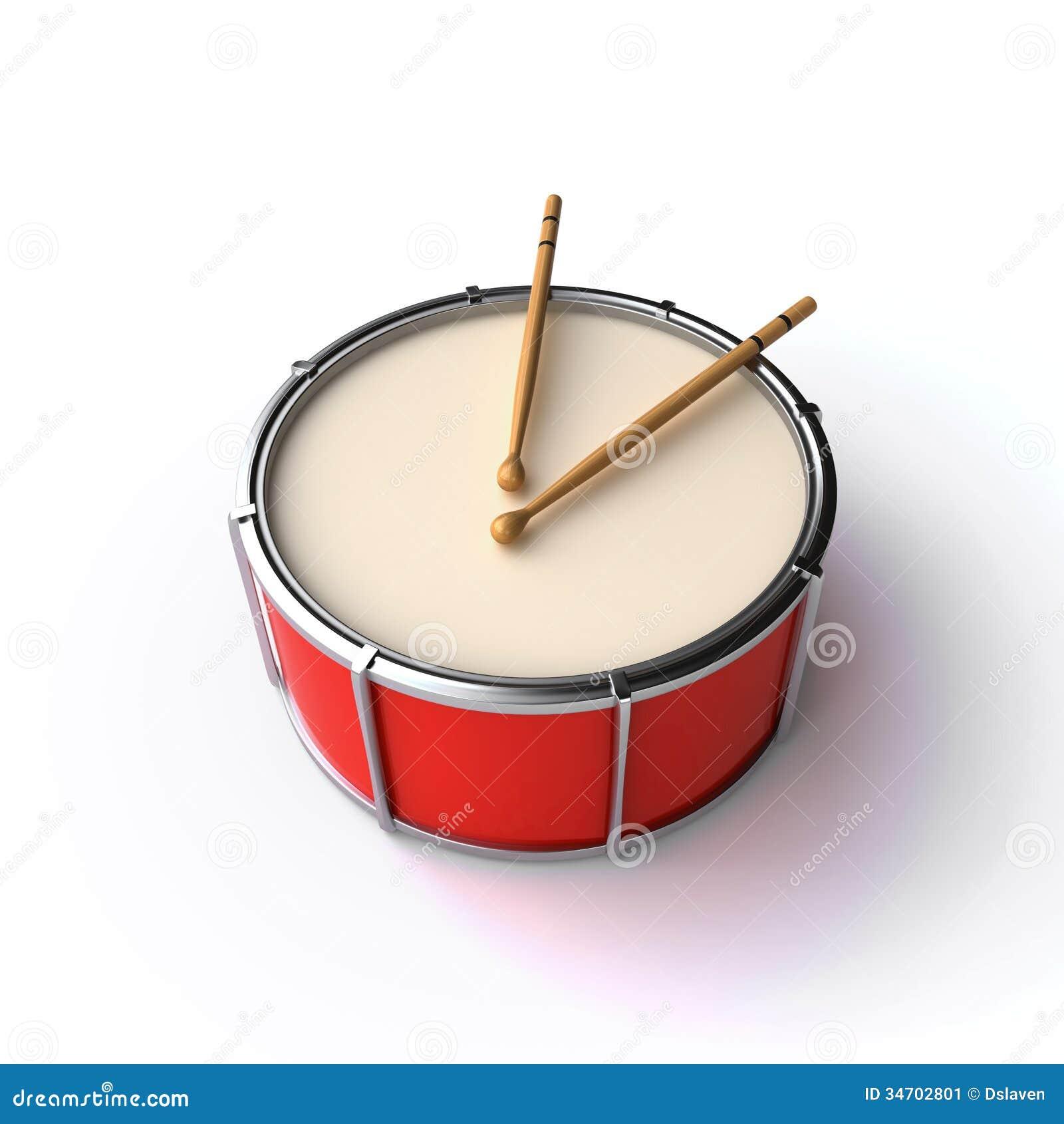 drum and sticks stock illustration illustration of render 34702801. Black Bedroom Furniture Sets. Home Design Ideas