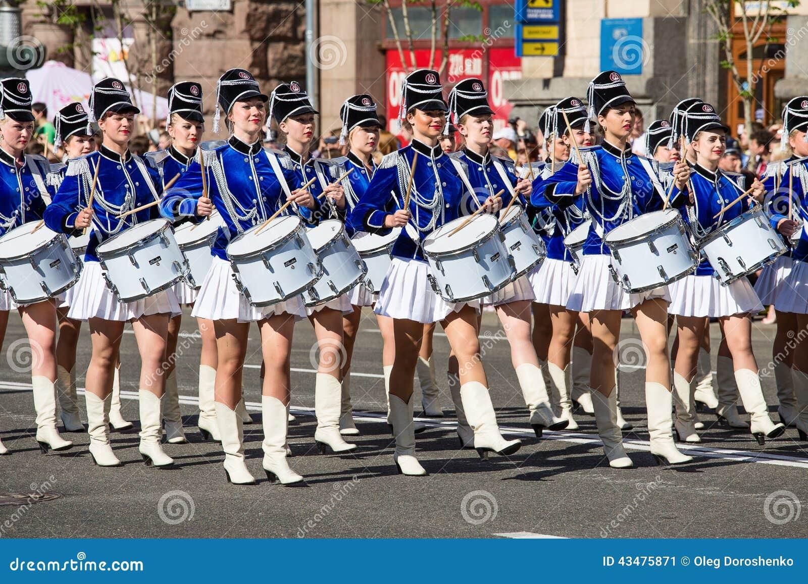 Marching Girls Marching Girls