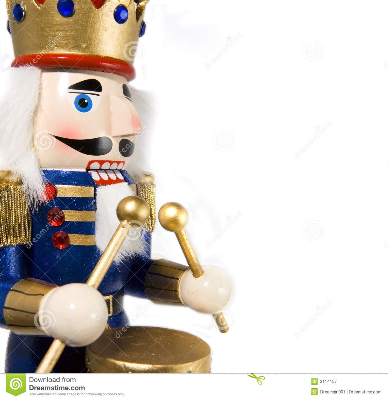 Drummer Nutcracker Stock Image Image Of Seasonal