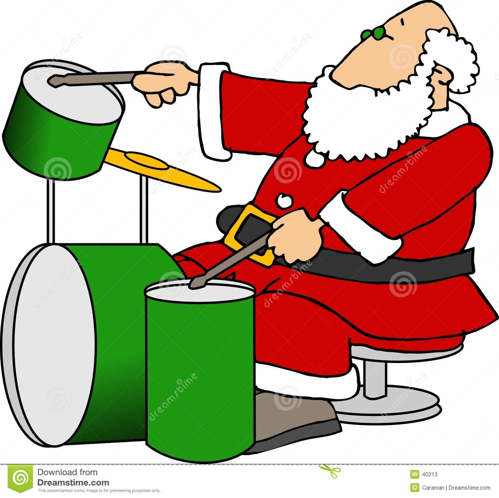 Drums leka santa