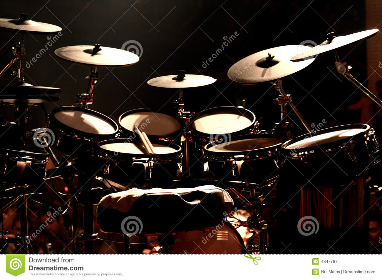 Drums on Stage