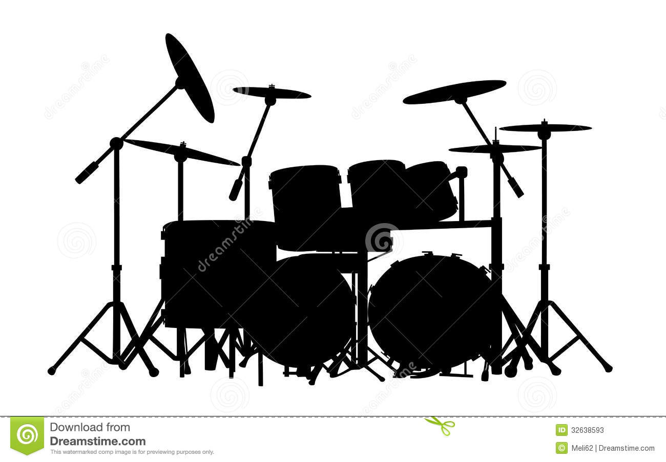 http://thumbs.dreamstime.com/z/drums...d-32638593.jpg White Drum Set Silhouette