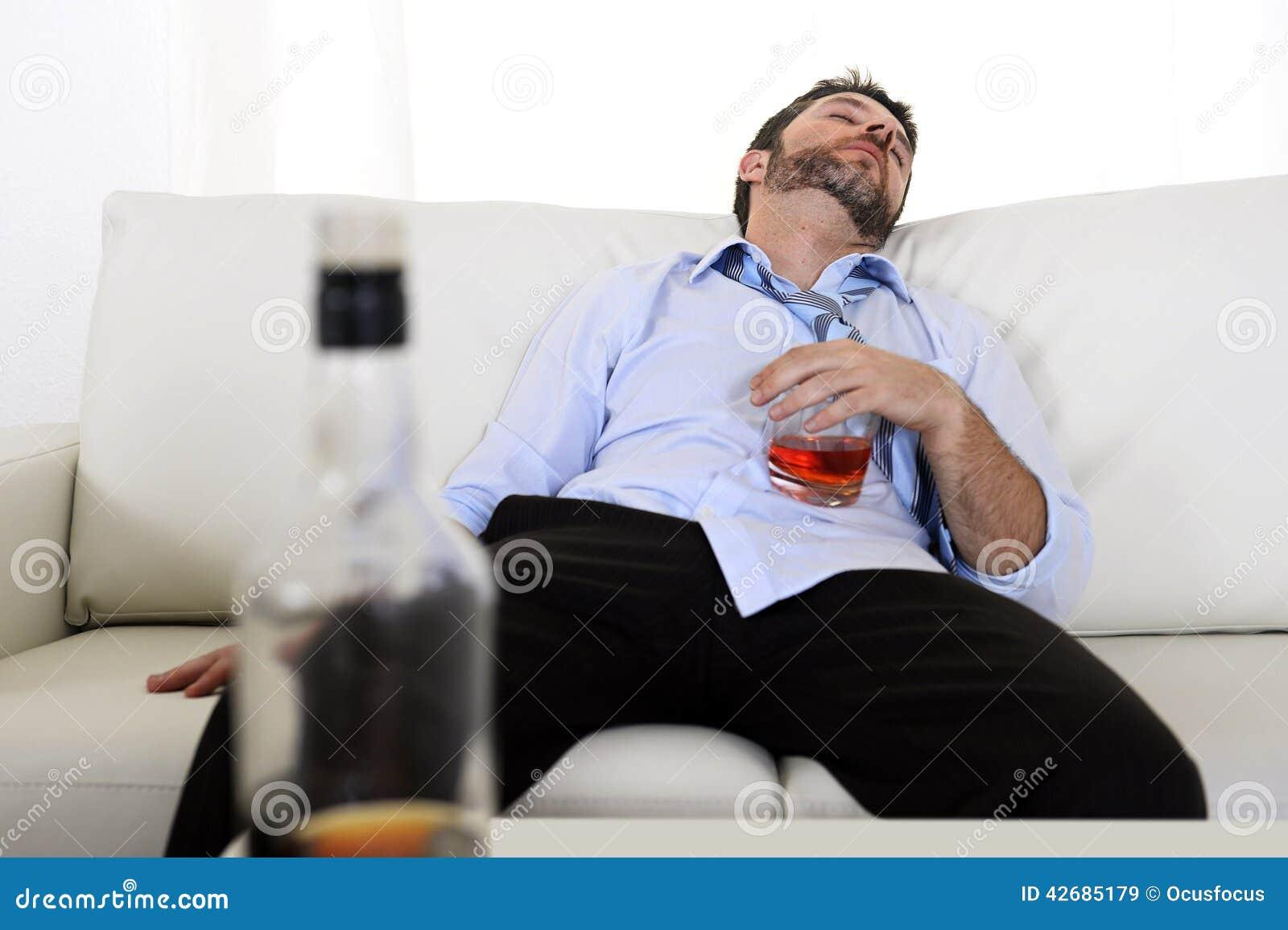 alcohol addiction lying