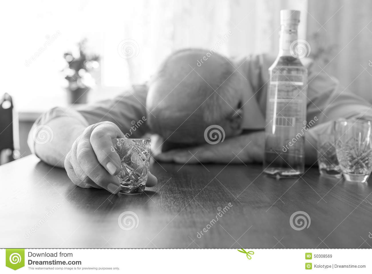 Drunk Old Man Sleeping On The Table Stock Photo Image  : drunk old man sleeping table close up wine holding small glass captured monochrome 50308569 from www.dreamstime.com size 1300 x 957 jpeg 86kB