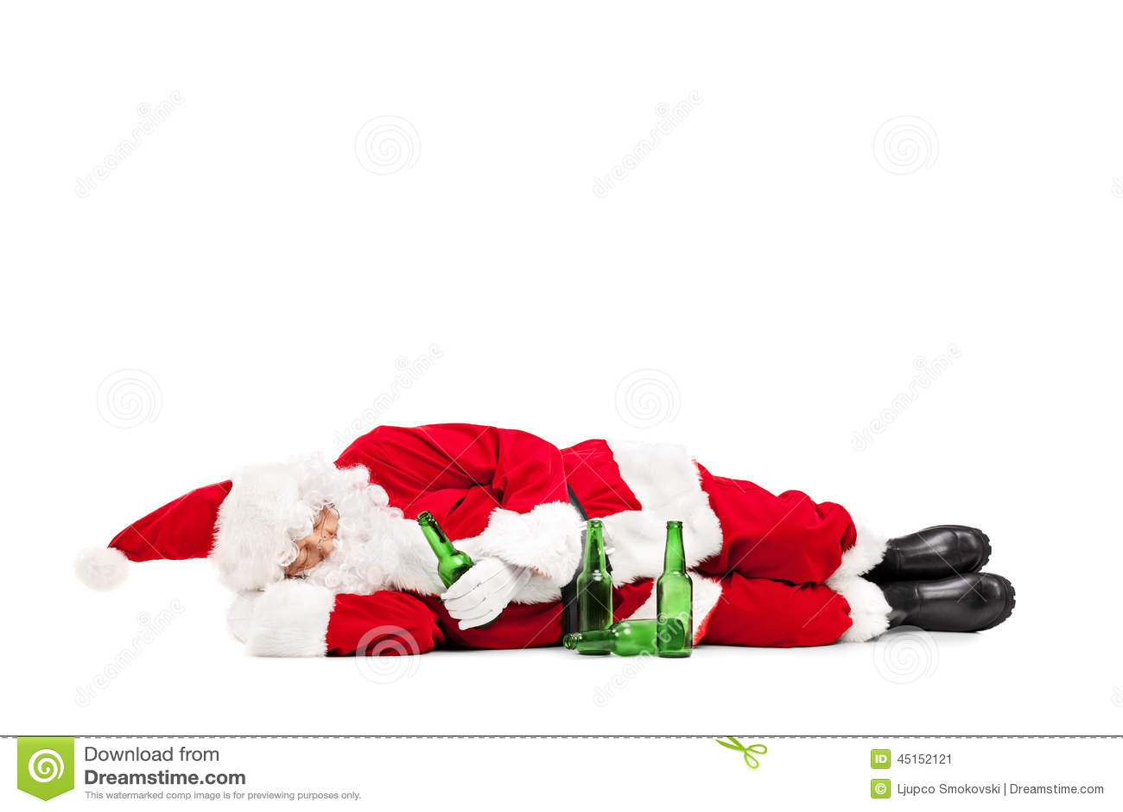 Drunk Santa Claus Stock Photos, Images, & Pictures - 834 Images
