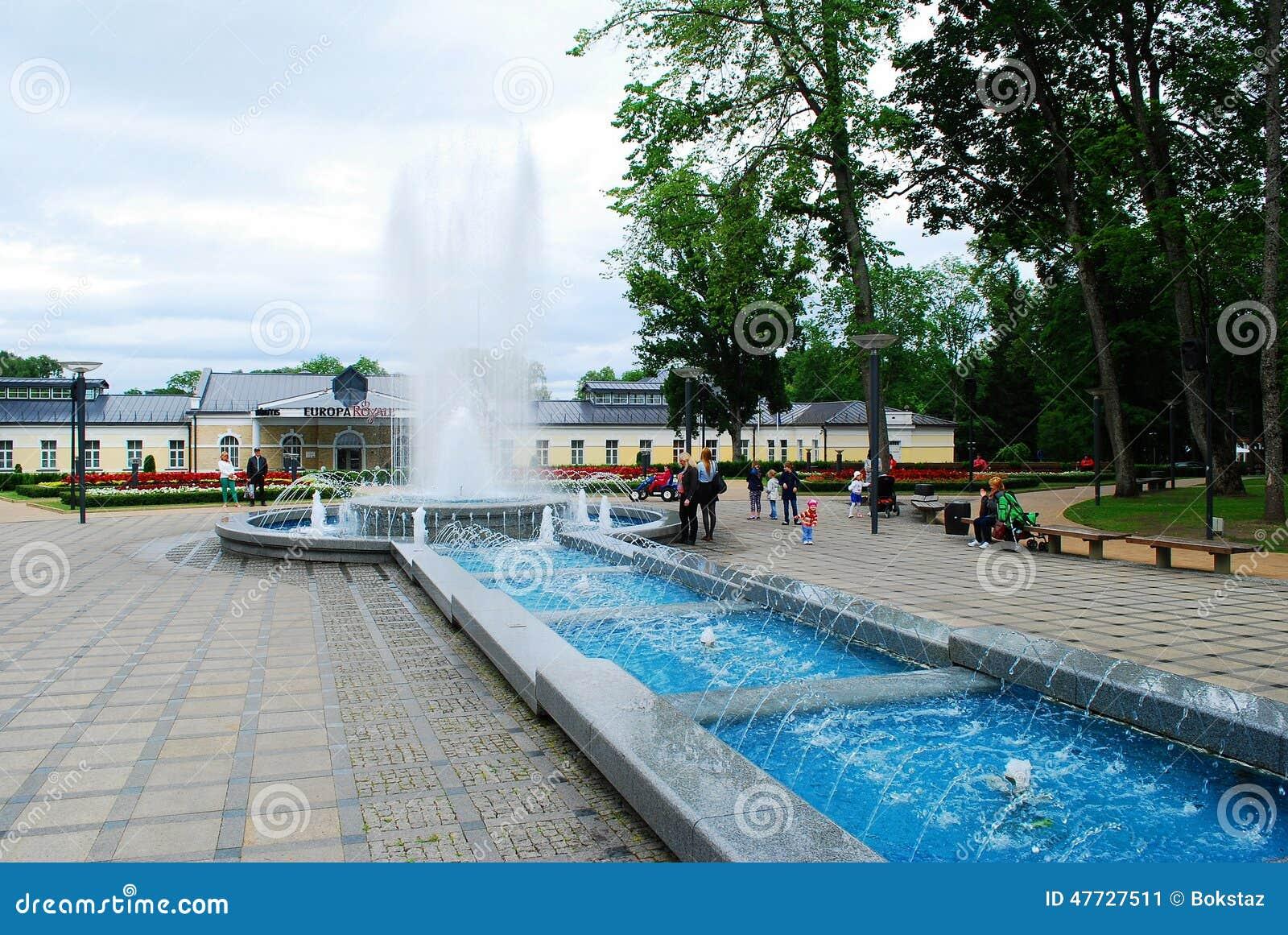 Druskininkai é uma cidade dos termas no rio de Neman em Lituânia do sul