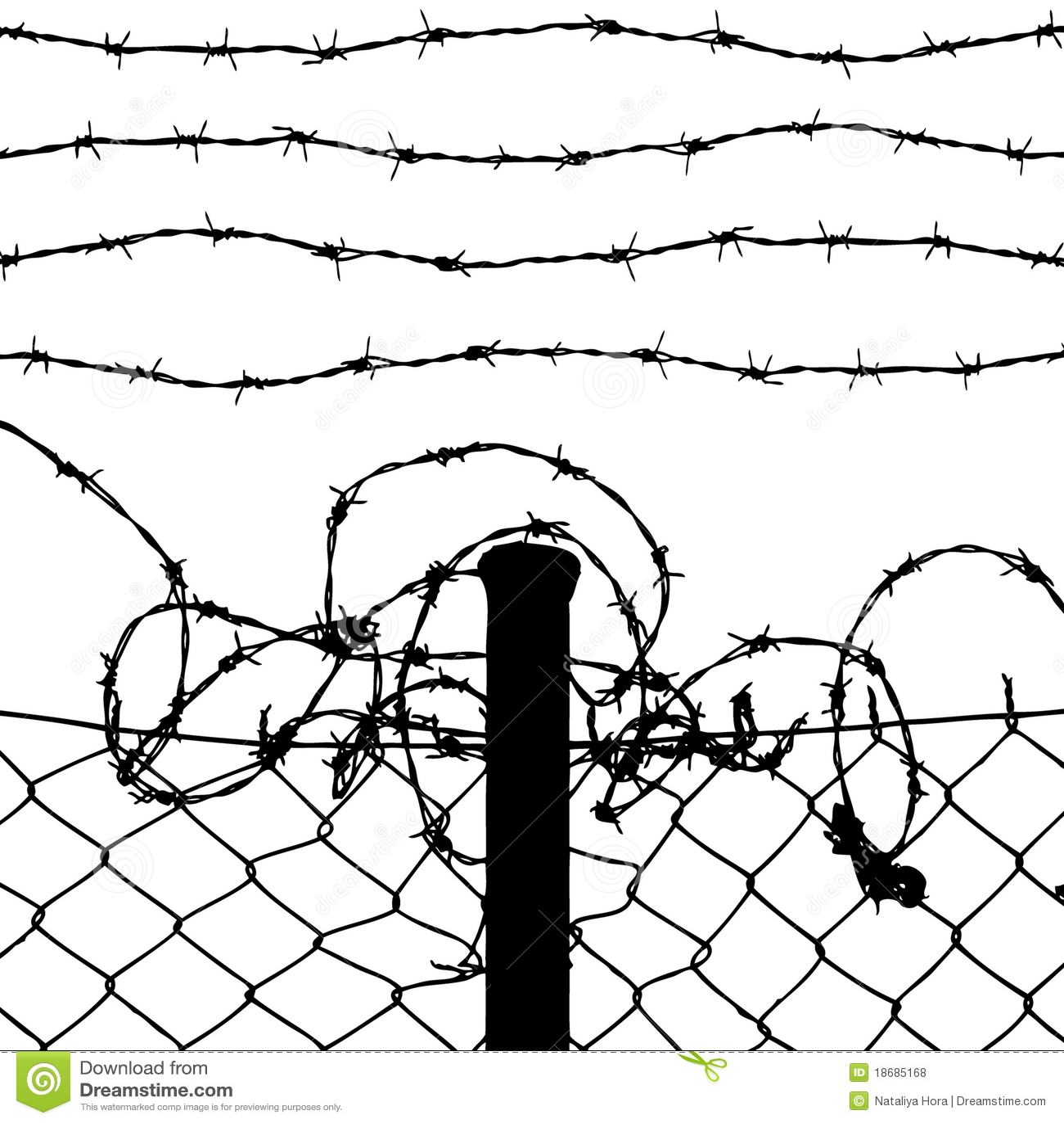 Drut ogrodzenie depeszujący druty