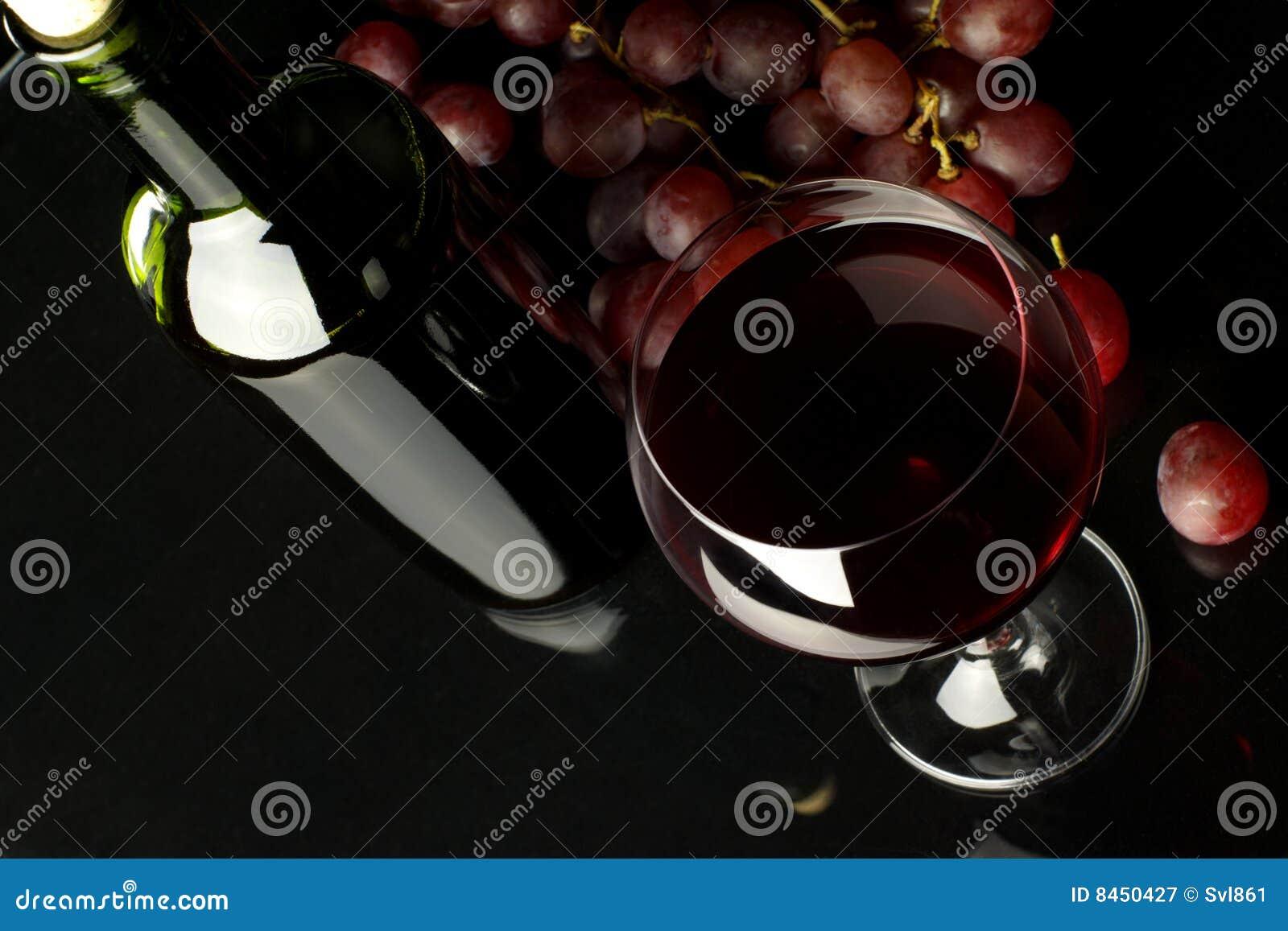 Druvarött vin
