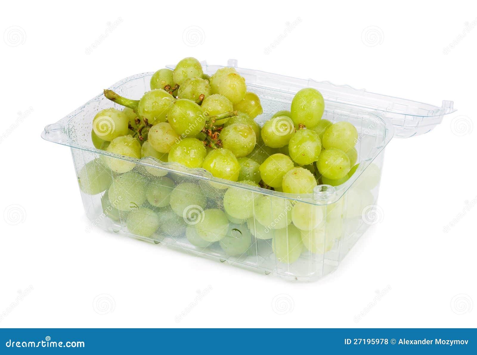 Druvor i behållaren
