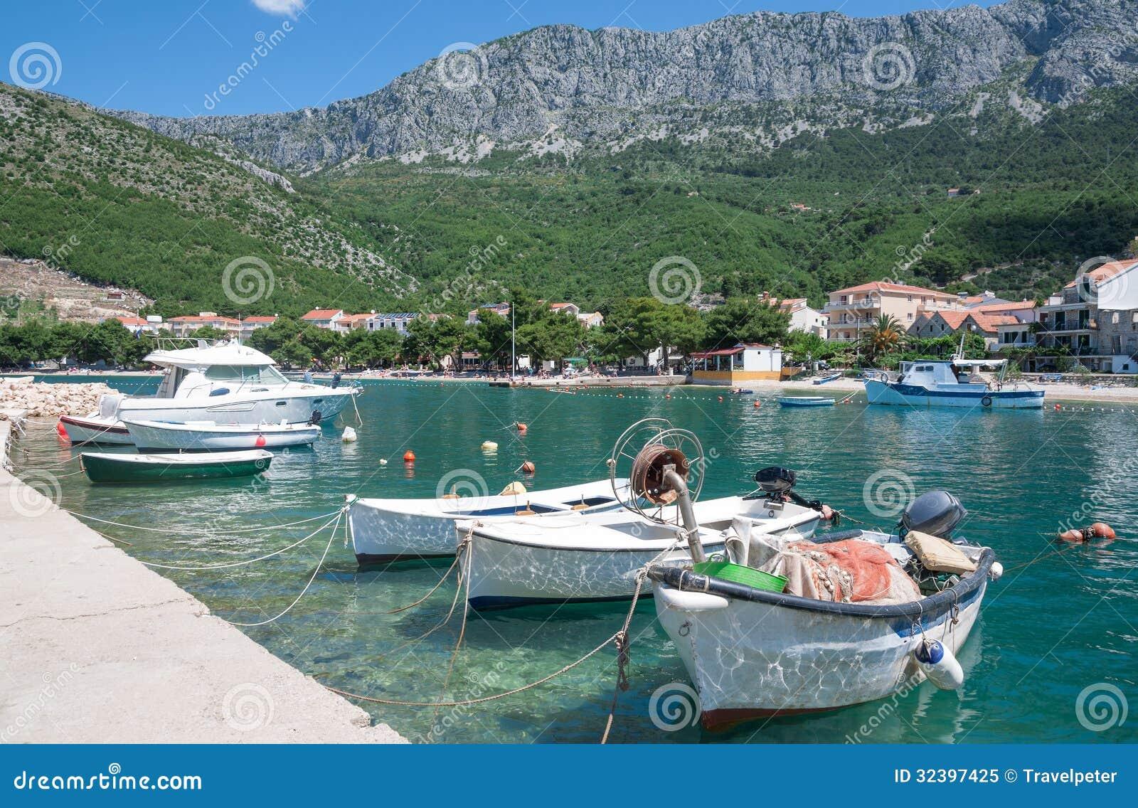 Drvenik Makarska Riviera, Dalmatia, Kroatien