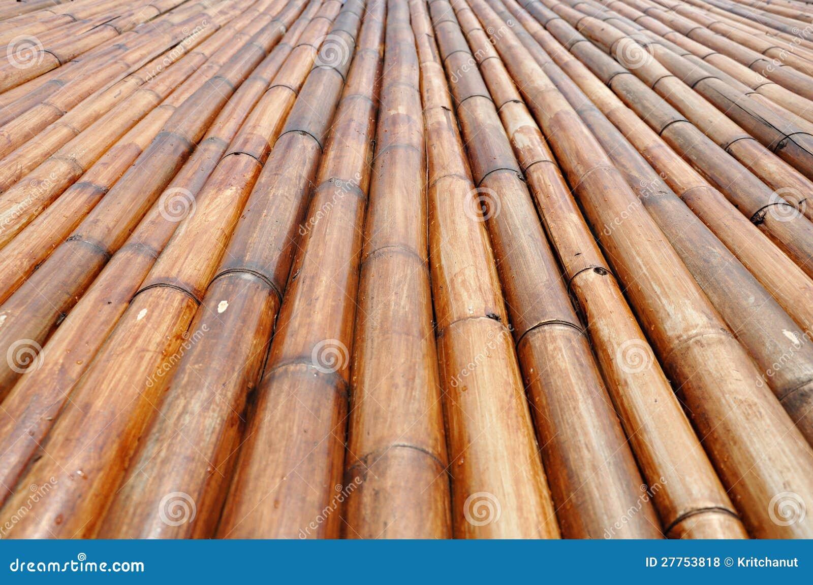 Dry bamboo stalk wall royalty free stock photo