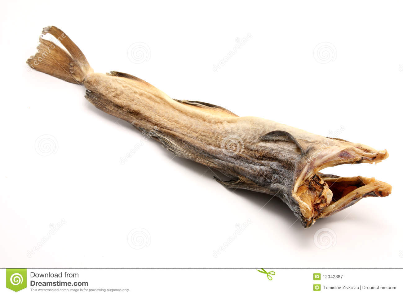 Dry cod fish royalty free stock photography image 12042887 for Too cool fishing