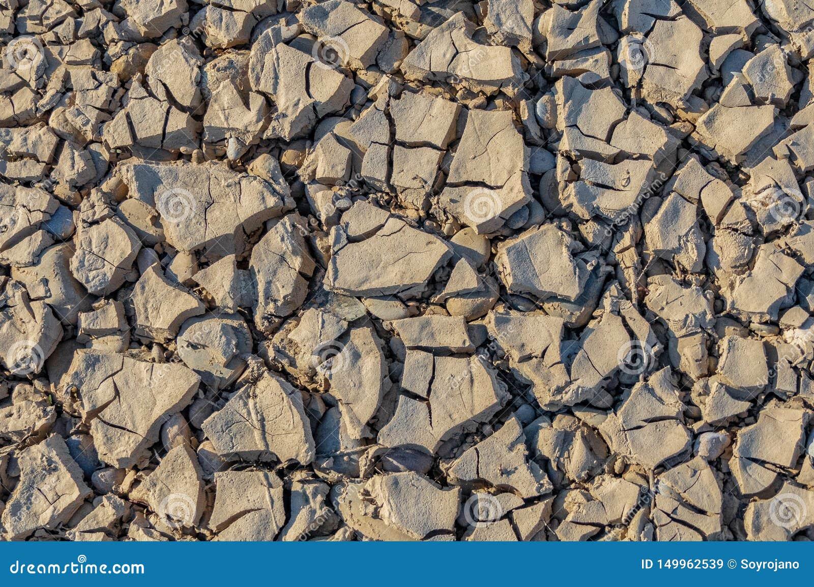 Dry earth texture light grey