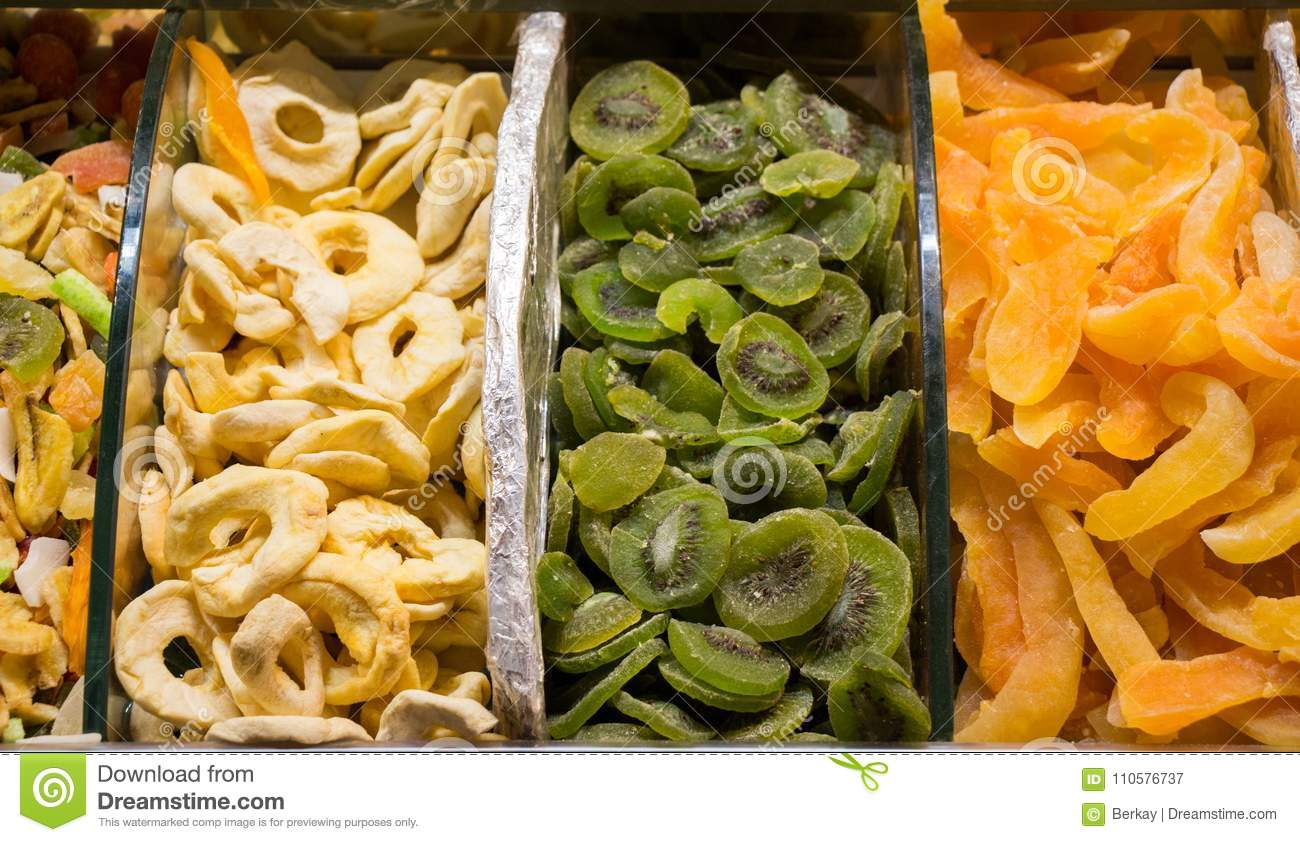 Dry fruit sell in market