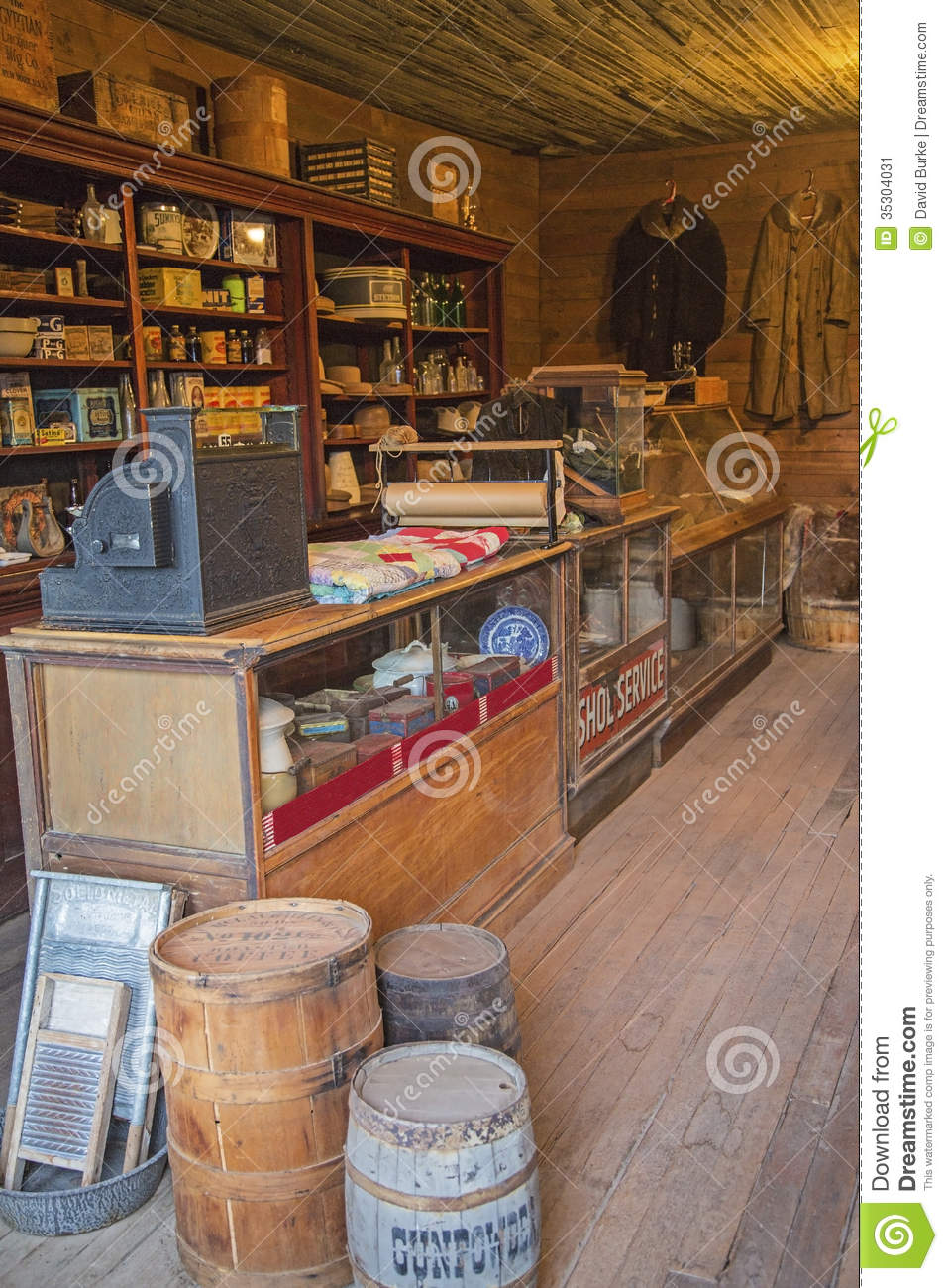 Dry Goods Or General Store Editorial Photo Image 35304031