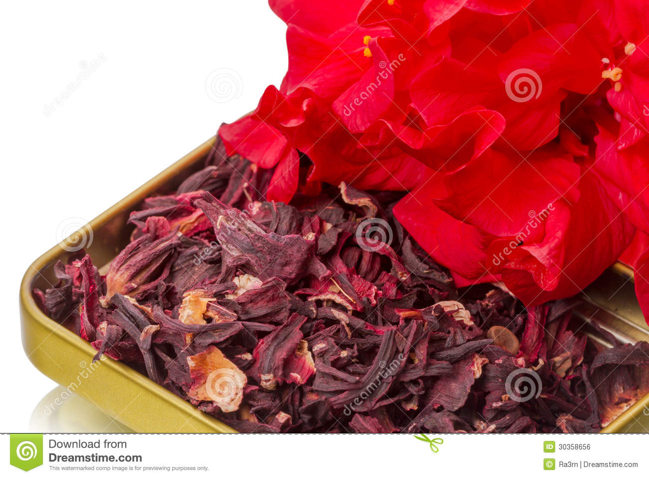 Dry hibiscus tea and flower stock photo image of herb hibiscus dry hibiscus tea and flower izmirmasajfo Images