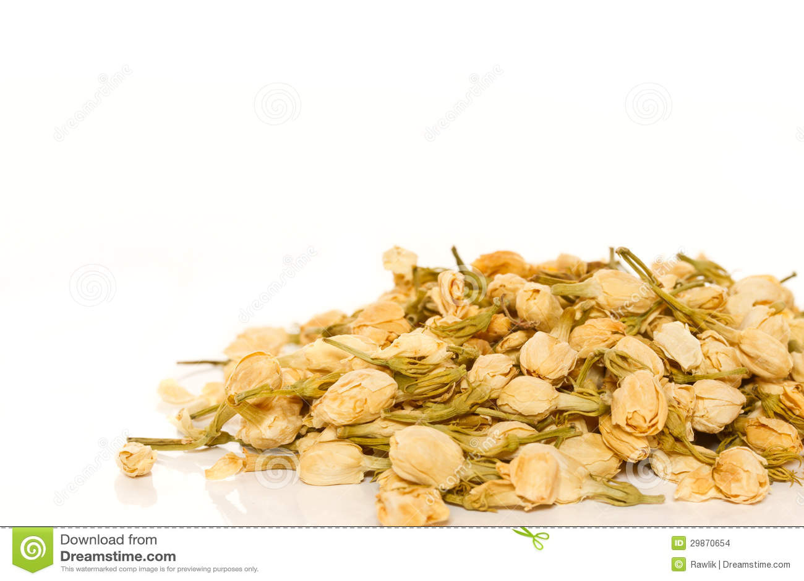 Dry Jasmine Tea Stock Photo Image Of Chinese Flowers 29870654
