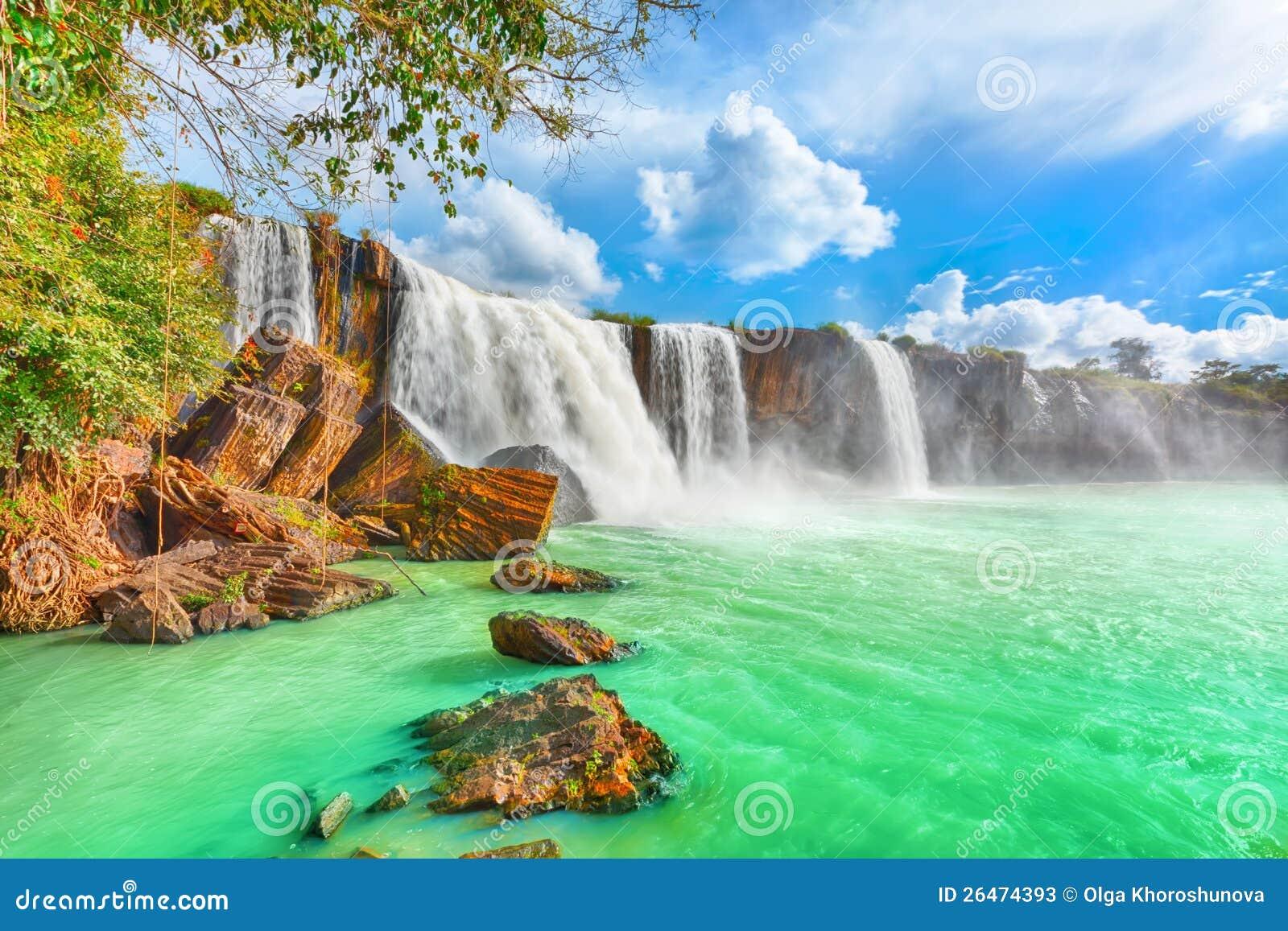 Dry Nur Waterfall Stock Photos - Image: 26474393