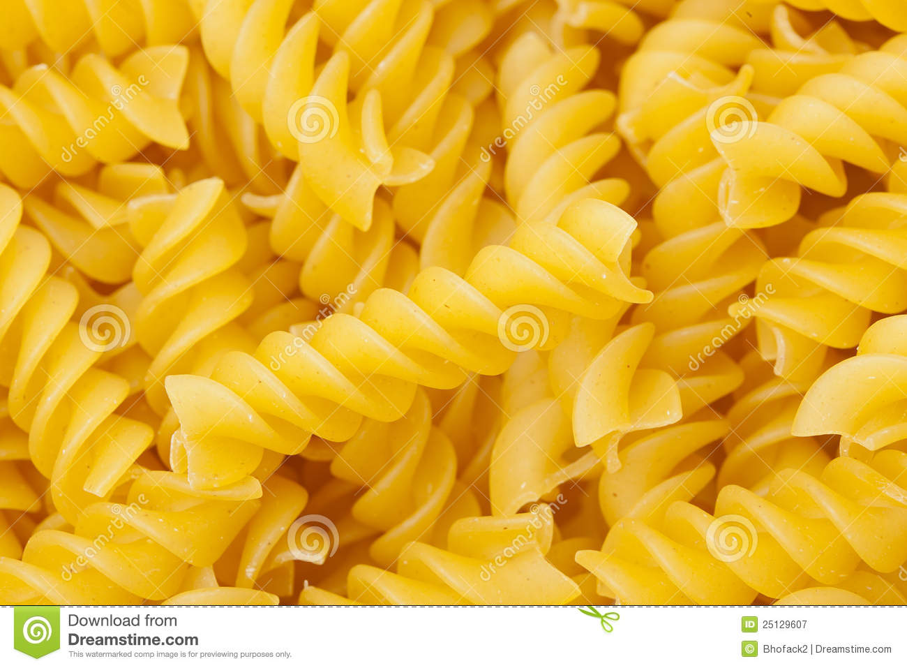 Dry Rotini Pasta Royalty Free Stock Photography - Image ...
