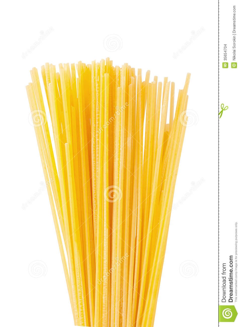 Dry Spaghetti Stock Images - Image: 35654704