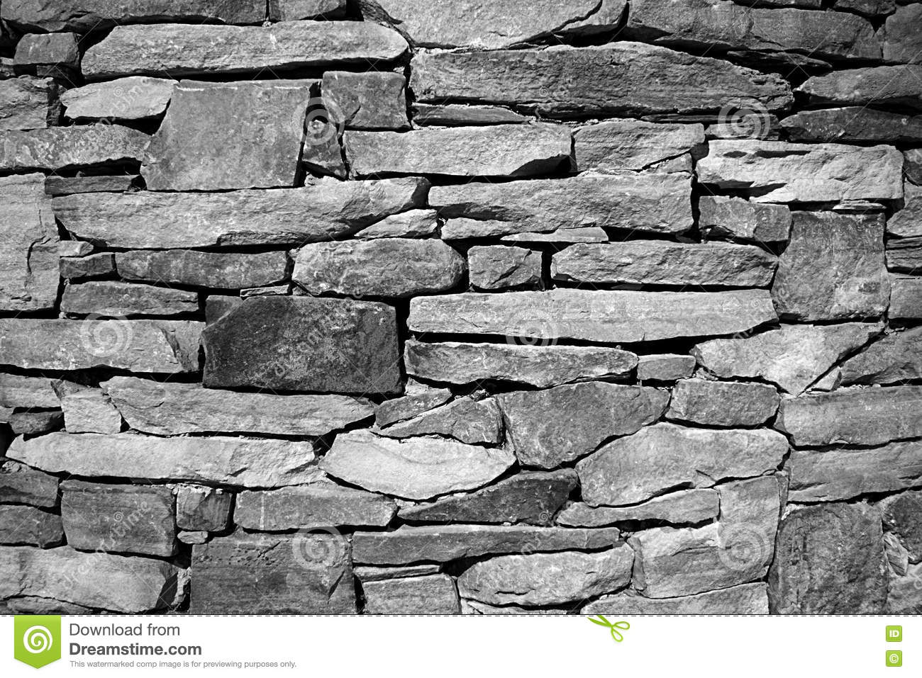 royaltyfree stock photo download dry stacked stone