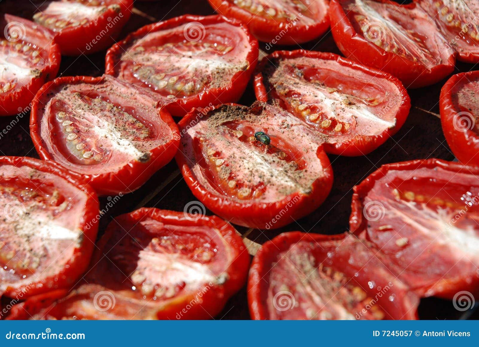Dry tomatoes
