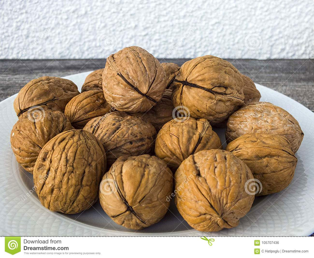 Dry Walnut Paintings In Various Concepts, Walnuts In