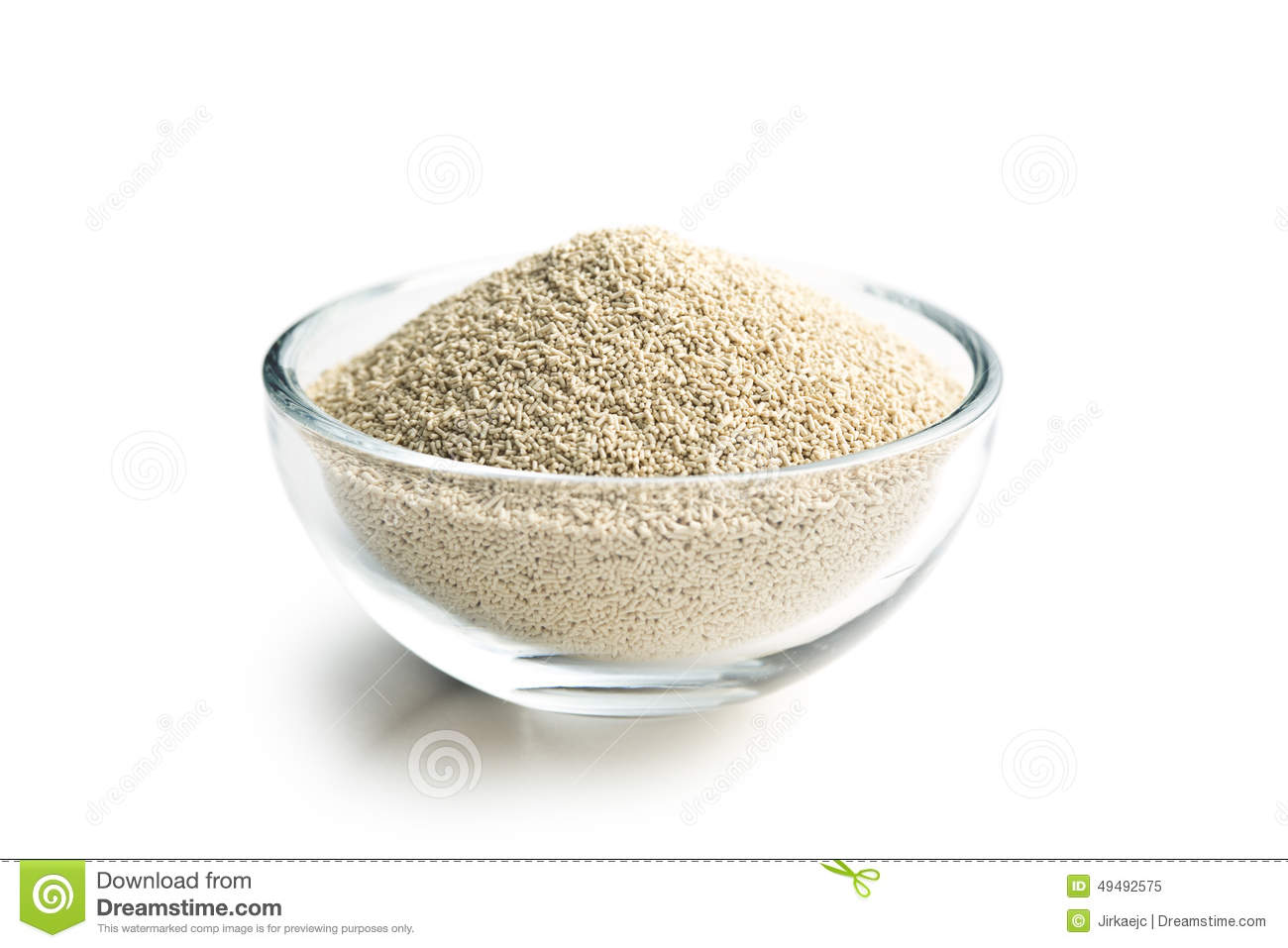 Yeast Cake Clipart : Dry Yeast In Bowl Stock Photo - Image: 49492575