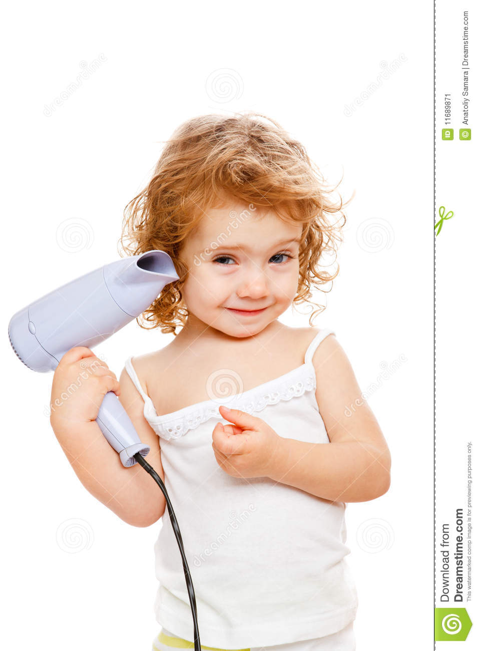 Drying Hair Stock Image Image 11689871