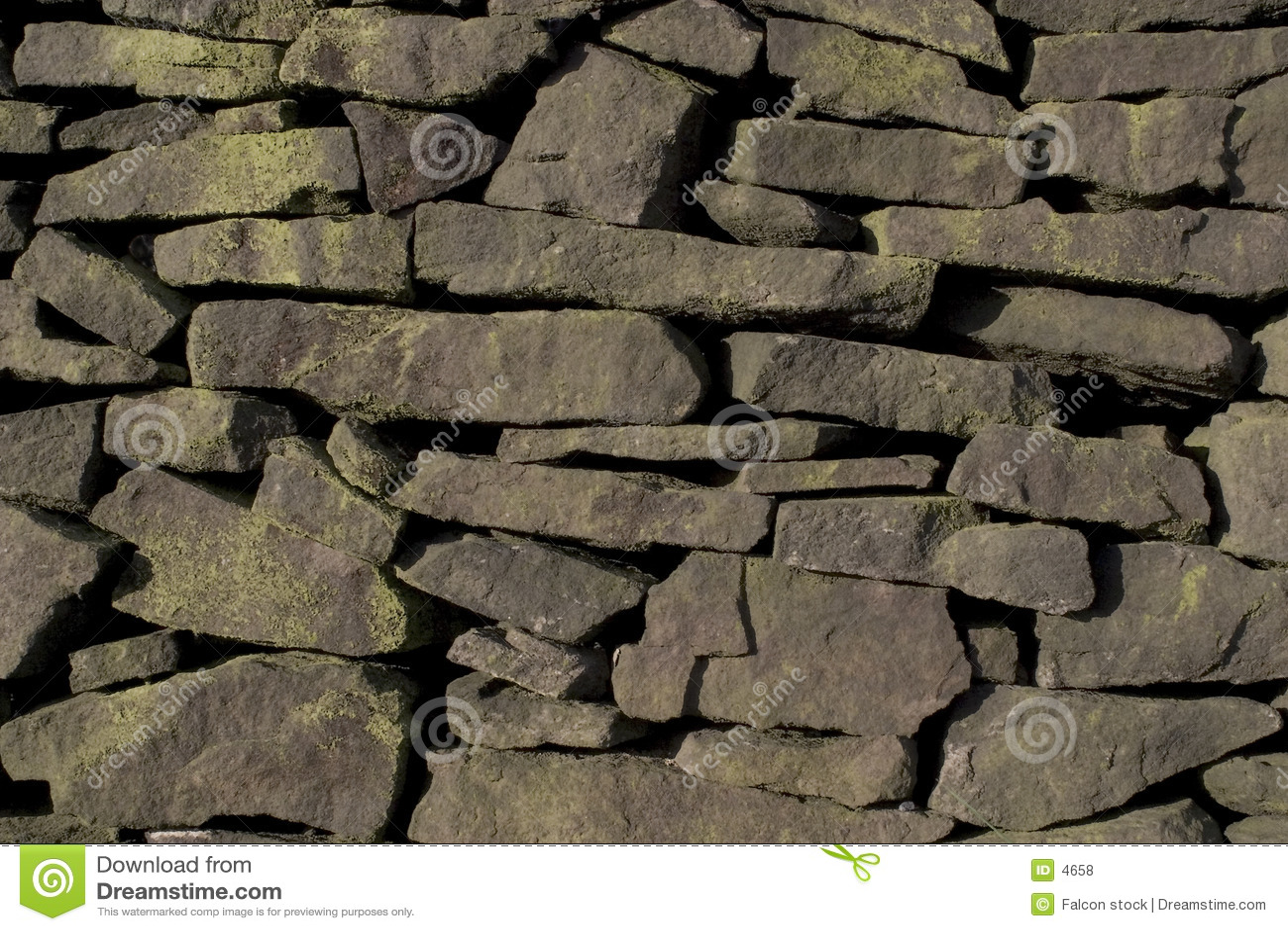 Drystone стена gritstone