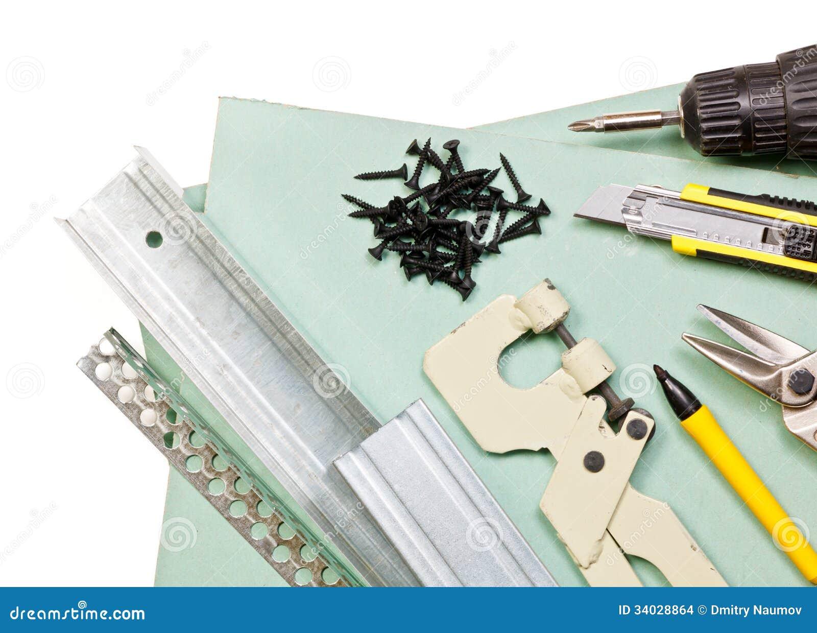 Drywall narzędzia ustawiający