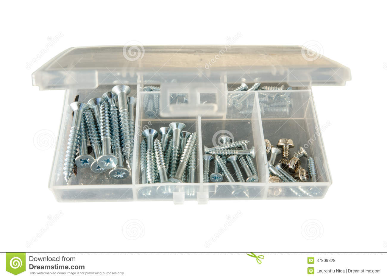 Drywall screws kit stock photo  Image of build, attach