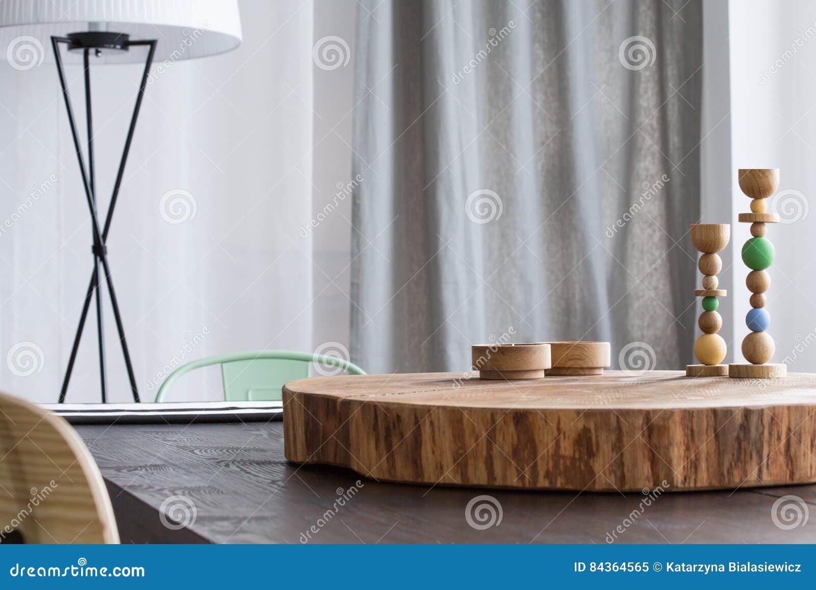 Drzewne stołowe dekoracj zabawki