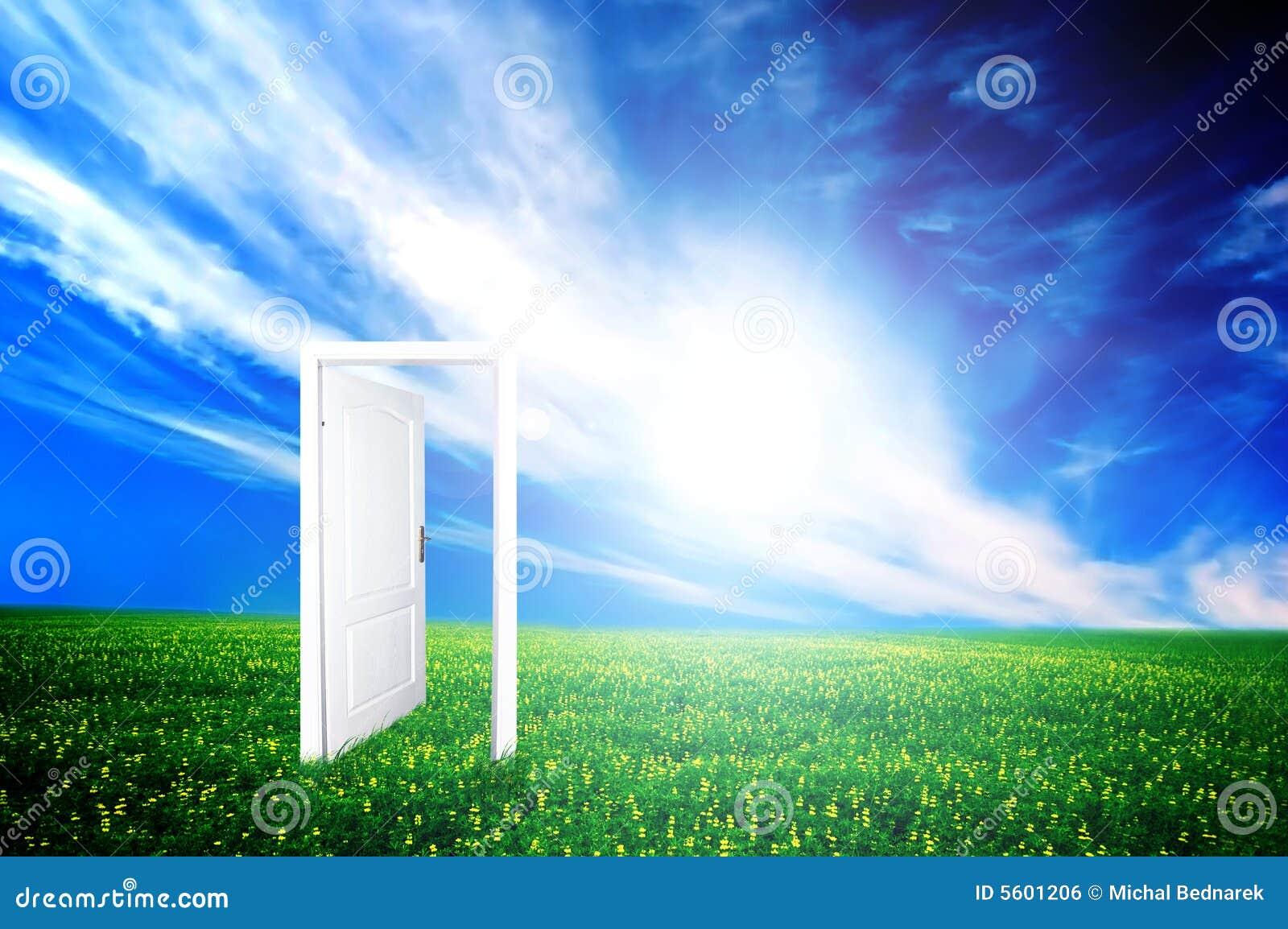 Drzwi nowy świat.