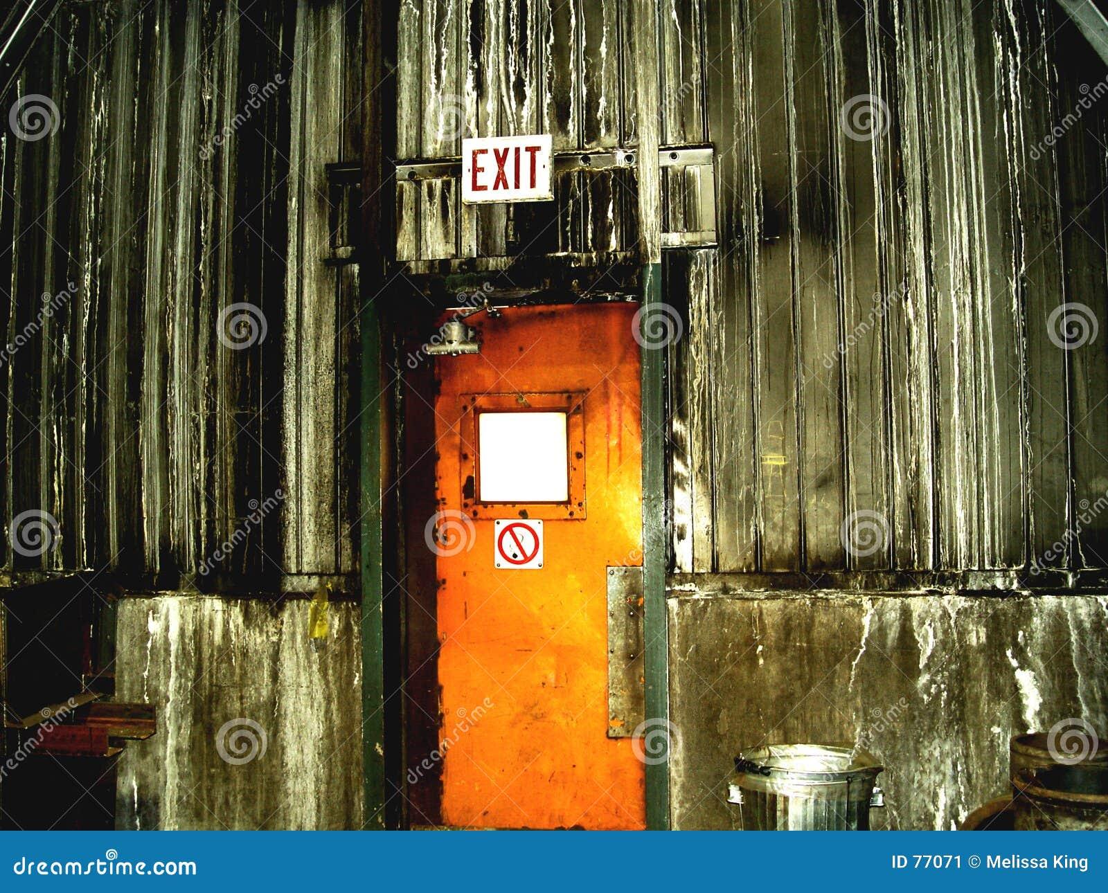 Drzwi w środku mojego rud żelaza
